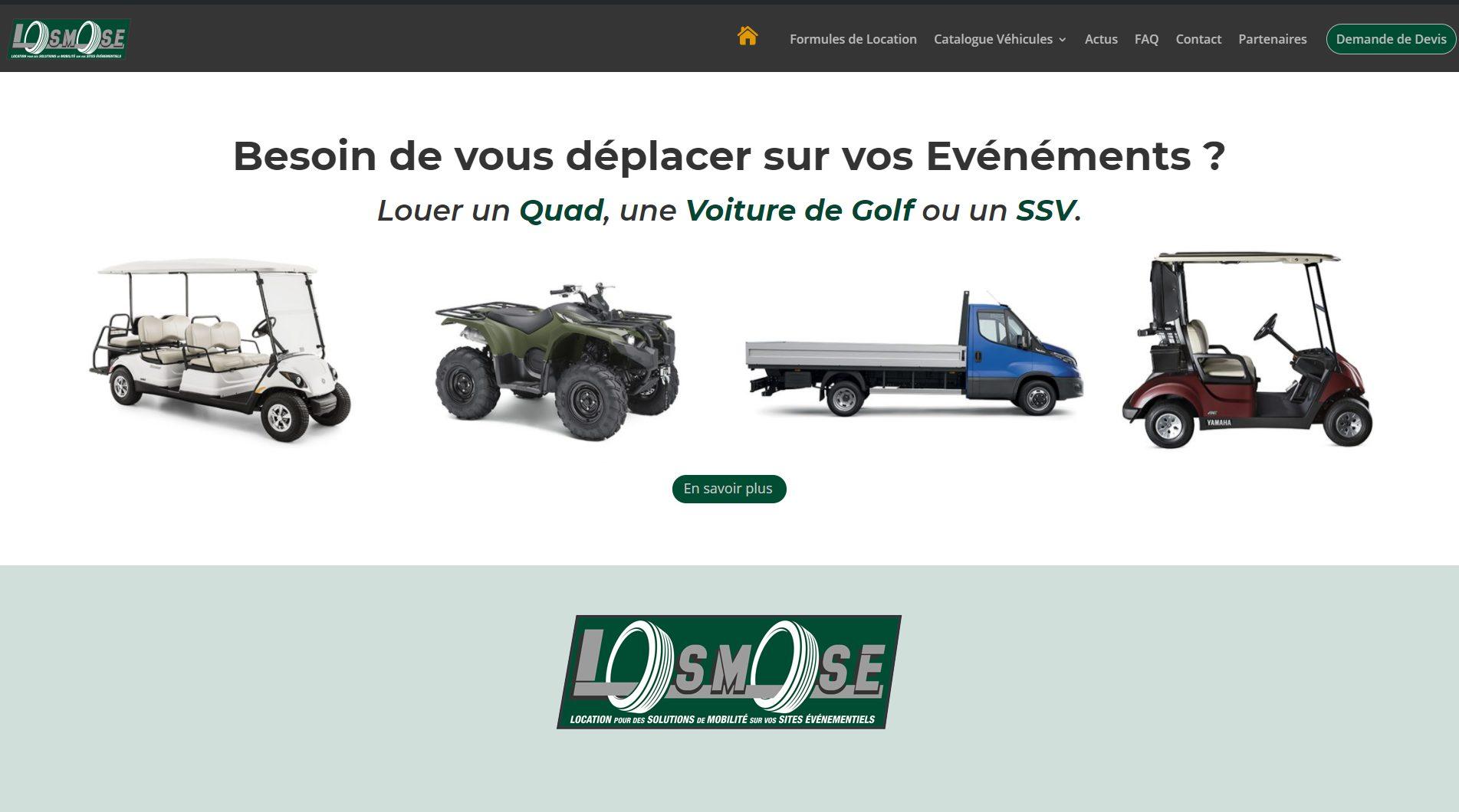 Site de LOSMOSEVENTS