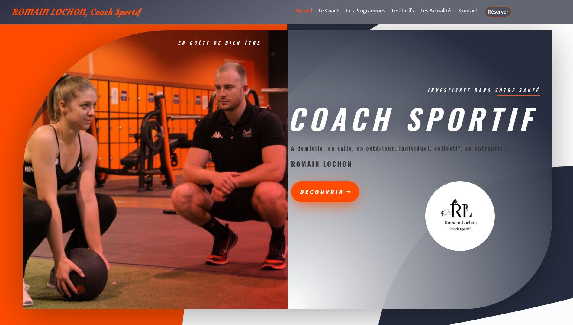 coach sportif romain lochon